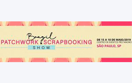 imagem do evento BRAZIL PATCHWORK & SCRABOOKING 2019