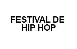 imagem do evento FESTIVAL DE HIP HOP 2019