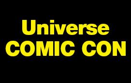 imagem do evento UNIVERSE COMIC CON